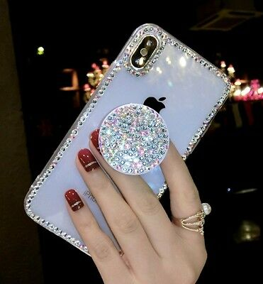 AU14.17 • Buy Girls Luxury Bling Glitter Diamond Stand Case Cover For IPhone 12 Pro Max 11 XR