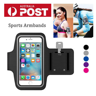 AU7.99 • Buy For Apple IPhone X XR IPhone XS MAX Gym Running Case Phone Cover Sports Armbands
