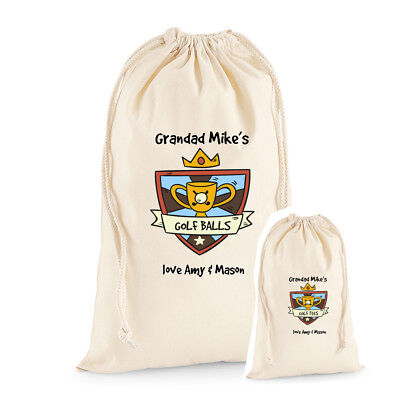 £9.50 • Buy Father's Day Personalised Golf  Present, Tees Bag,Dad, Grandad's,Uncle Gift