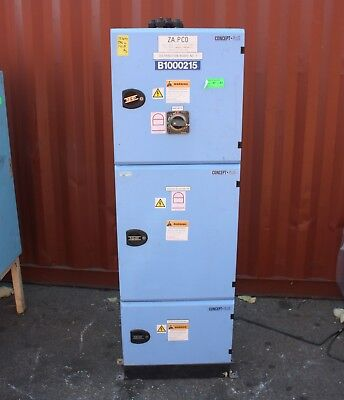 AU1390 • Buy NHP Concept Panelboard Distribution Switchboard 125A Main Switch 250A Busbar 42P