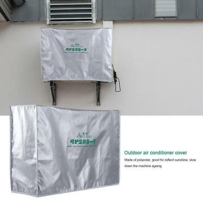 AU13.26 • Buy Outdoor Air Conditioner Thicken Cover Dust-proof Anti-Snow Waterproof Sunproof