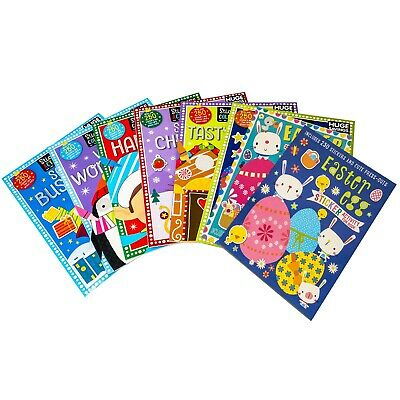 £11.99 • Buy Easter Colouring Childrens Activity Fun 8 Books Collection Over 250 Stickers