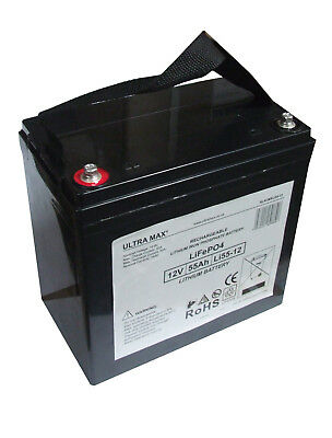 CSB EVX 12520 (EVX12520) Replacement Cyclic LITHIUM Battery 12V 55Ah  • 263.10£