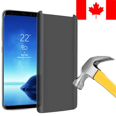 $ CDN7.99 • Buy Privacy Anti-spy Tempered Glass Screen Protector For Samsung Galaxy S8