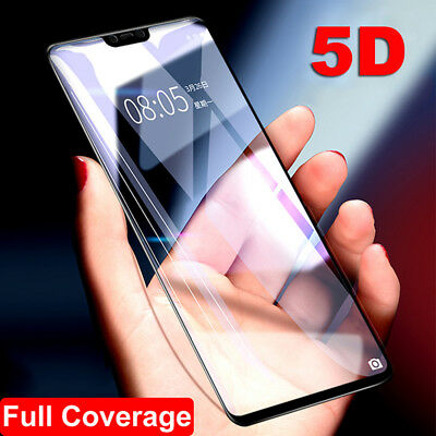 AU3.63 • Buy For OnePlus 6 5T Full Cover 5D & 3D Curved Tempered Glass Film Screen Protector