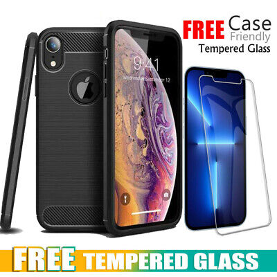 AU6.99 • Buy Heavy Duty Shockproof Case Cover For IPhone 13 12 11 Pro X XR XS Max 8 7 6S Plus