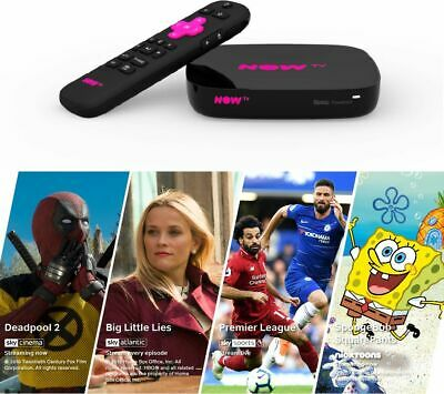 View Details NOW TV Smart Box With 4K & Voice Search - 4 NOW TV Pass Bundle - Currys • 49.99£