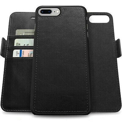 AU26.99 • Buy Best Gift For Men & Husband, Flip Real Leather Wallet Card Stand Case Full Cover