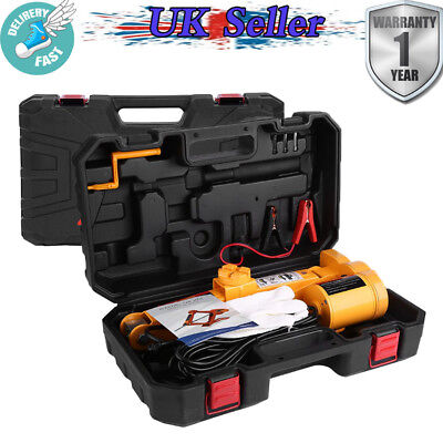 UK Car Automatic 2T 12V DC Electric Lifting-Jack Garage Tool Emergency Equipment • 35.89£