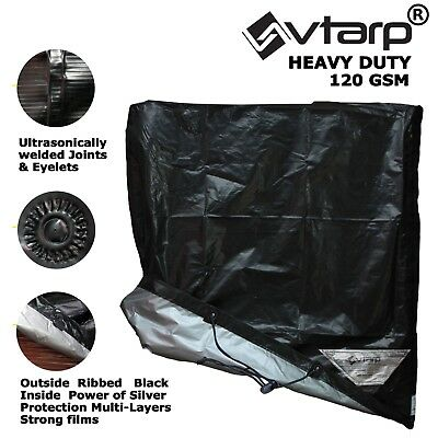 Vtarp ® GARDEN PATIO FURNITURE SET COVERS WATERPROOF RATTAN TABLE CUBE OUTDOOR • 19.95£