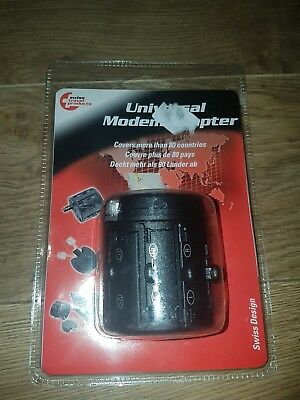 Swiss Travel Products Universal Modem Adapter P/n: Sma001 • 7£