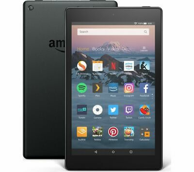 View Details AMAZON Fire HD 8 Tablet (2018) - 16 GB, Black - Currys • 54.99£