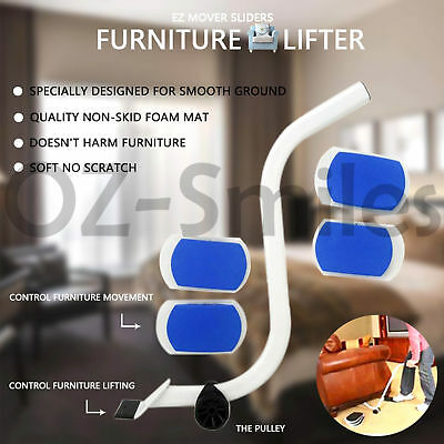 AU26.67 • Buy Furniture Lifter Moves With EZ Mover Sliders Kit Home Moving Lifting System