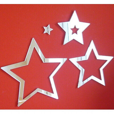 £6.99 • Buy Star Infinity Acrylic Mirror (Several Sizes Available)