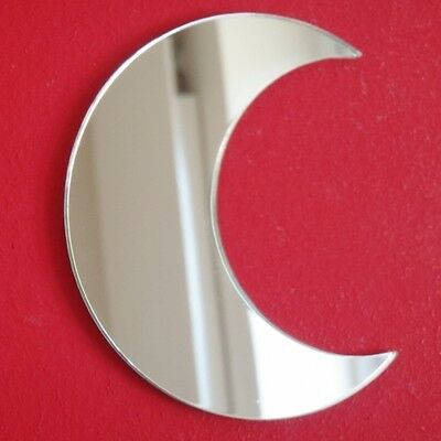 Moon Acrylic Mirror (Several Sizes Available) • 9.99£