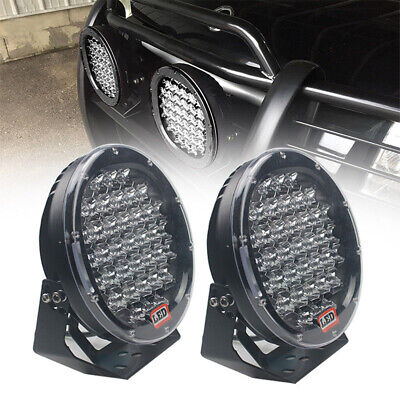AU102.99 • Buy NEW DESIGN LED Driving Spot Lights 9inch Black Round Offroad Truck SUV 4x4 AU