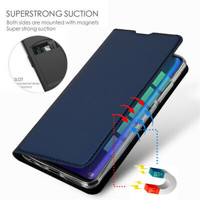 AU8.07 • Buy For OnePlus 8 Pro 7T 7 6T 5T Slim Leather Magnetic Flip Wallet Card Case Cover
