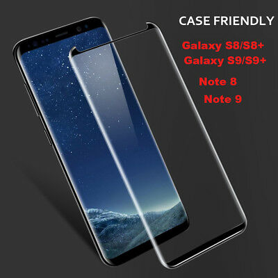 $ CDN16.40 • Buy Full Glue Tempered Glass Screen Protector For Samsung Galaxy Note 8/9 S9/S8/Plus