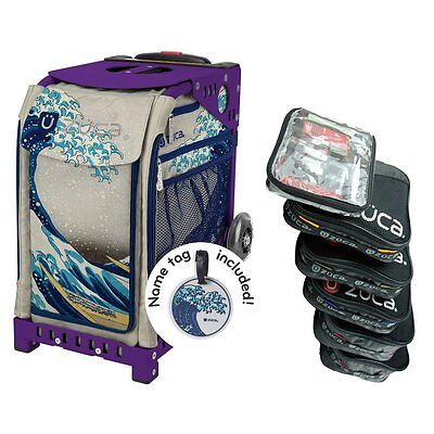 £178.95 • Buy Zuca GREAT WAVE Sport Insert Bag With Purple Frame And Packing Pouch Set