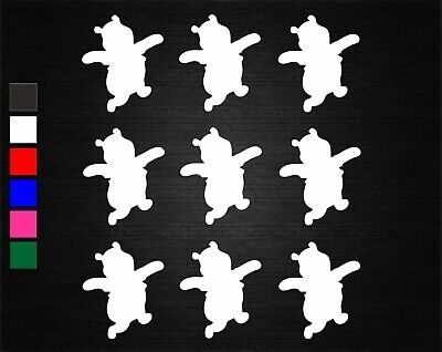 £1.75 • Buy 9 X WINNIE THE POOH WINE GLASS/JAR DECAL STICKERS PARTY DECORATION WALL/PHONE