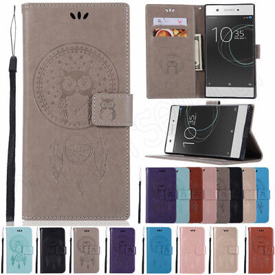 AU9.12 • Buy For Sony Xperia XA1 L2 XA2 XZ3 Magnetic Flip Stand Cover Wallet PU Leather Case