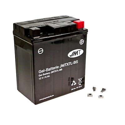 Battery Motorcycle Ytx7L-Bs Gel Jmt Filled & Charged For Sfm Madass 125 2011 - • 41.46£
