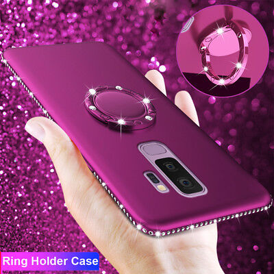 $ CDN4.42 • Buy Magnetic Ring Holder Bling TPU Case Cover For Samsung Galaxy Note 9 8/S7E S8 S9+