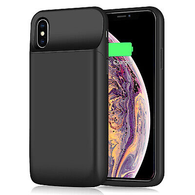 AU50.34 • Buy Ultra-Slim Battery Charger Case Backup Power Bank Charging Cover F IPhone X & XS