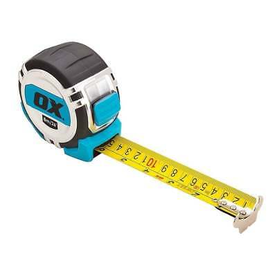 OX TOOLS PRO TAPE MEASURE HEAVY DUTY 8M / 26ft METRIC AND IMPERIAL OX-P028708 • 17.95£