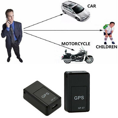AU17.14 • Buy Magnetic Mini Car SPY GPS Tracker Real Time Tracking Locator Device Voice Record