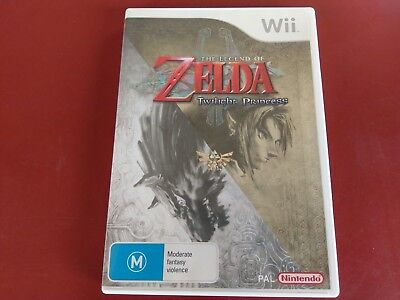 AU29.95 • Buy The Legend Of Zelda Twilight Princess Nintendo Wii Game Complete - Free Post