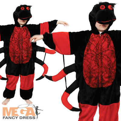 Spider Kids Insect Animal Fancy Dress Child Boys Girls Costume Outfit 3-11 Years • 12.99£