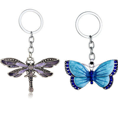 AU2.19 • Buy Lovely Dragonfly Butterfly Pendant Necklace For Women Charm Rhinestone Jewelry