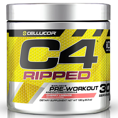 AU54.95 • Buy Cellucor C4 Ripped Pre Workout And Cutting Formula 30's - Fat Burning