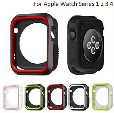 $ CDN5.07 • Buy Protective Case+Watch Band IWatch Strap For Apple Watch Series 5/4/3/2 40/44mm