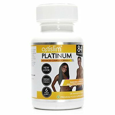 Actislim Platinum The UK's #1 Weight Loss Slimming Pill, Contains Garcinia Cambo • 42.57£