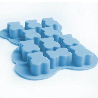 SILICONE TEDDY BEAR SOAP MOULD Small Smelly Candle Making Bath Shower Mold • 3.89£