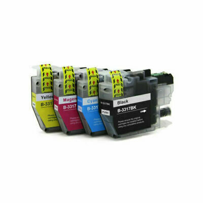 AU31.50 • Buy 8 Generic Dye Base LC3319XL Lc3317HY Ink For Brother MFC-J5730dw J5330dw J6530dw
