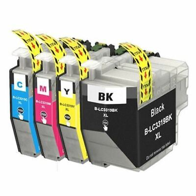 AU43.80 • Buy 8 X LC3319XL LC3319 LC-3319XL B/C/M/Y Ink Compatible For Brother MFC J6930DW