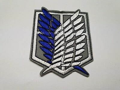 AU6.99 • Buy Quality Iron/Sew On Attack On Titan Patch Wings Of Freedom AOT A.O.T