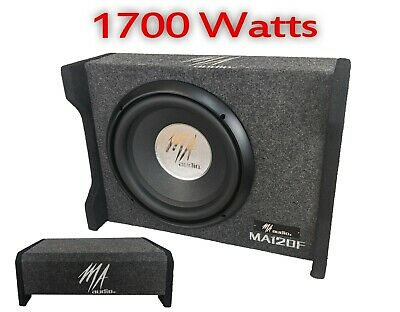 $124.24 • Buy MA AUDIO 12  1500W Car Truck Loaded Boom Bass Box Subwoofer Specifically Design