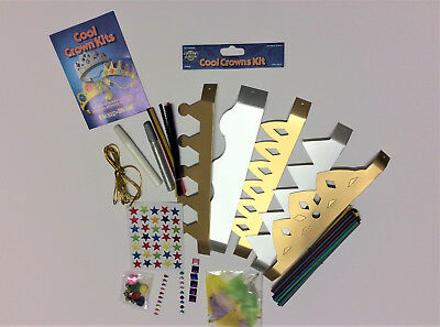Make Your Own Cool Card Crowns Kit For Children • 4.99£