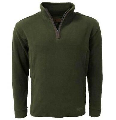 £22.95 • Buy Game Stanton Fleece Pullover Jumper Green Country Hunting Shooting