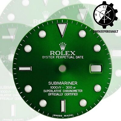$ CDN256.78 • Buy To Fit Rolex Submariner Steel Green Luminous Dial Model16800, 16610, 116610.