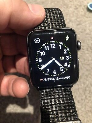 $ CDN435.95 • Buy Nike Apple Watch Series 3 (GPS/Cellular) 42mm W/ Spare Bands Box Original Papers