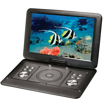 AU179 • Buy Lenoxx 15.4  Swivel Portable DVD Player Car Charger/USB/Remote/Built-in Battery