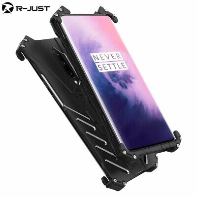 AU28.94 • Buy For Oneplus 7T 7 Pro 6T 6 5T R-JUST Metal Aluminum Heavy Duty Shockproof Case