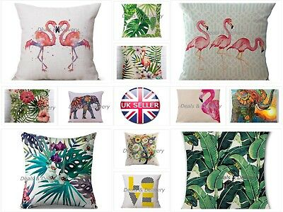 18  Vintage Linen Cotton Waist Throw Pillow Case Home Sofa Decor Cushion Cover • 3.25£