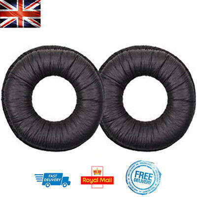 Replacement Ear Pads For SONY MDR-ZX100 ZX300 V300 Headphones 70mm Round Cushion • 3.99£