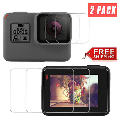 $ CDN10.06 • Buy Glass For GOPRO Hero 7 6 5, Camera Screen Protector Tempered Glass (4-Pack)